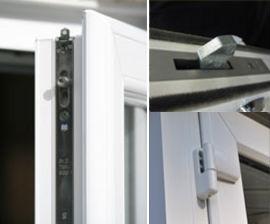 Super Fortress door locks